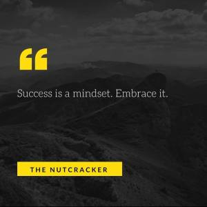 Success is a mindset. Embrace it.