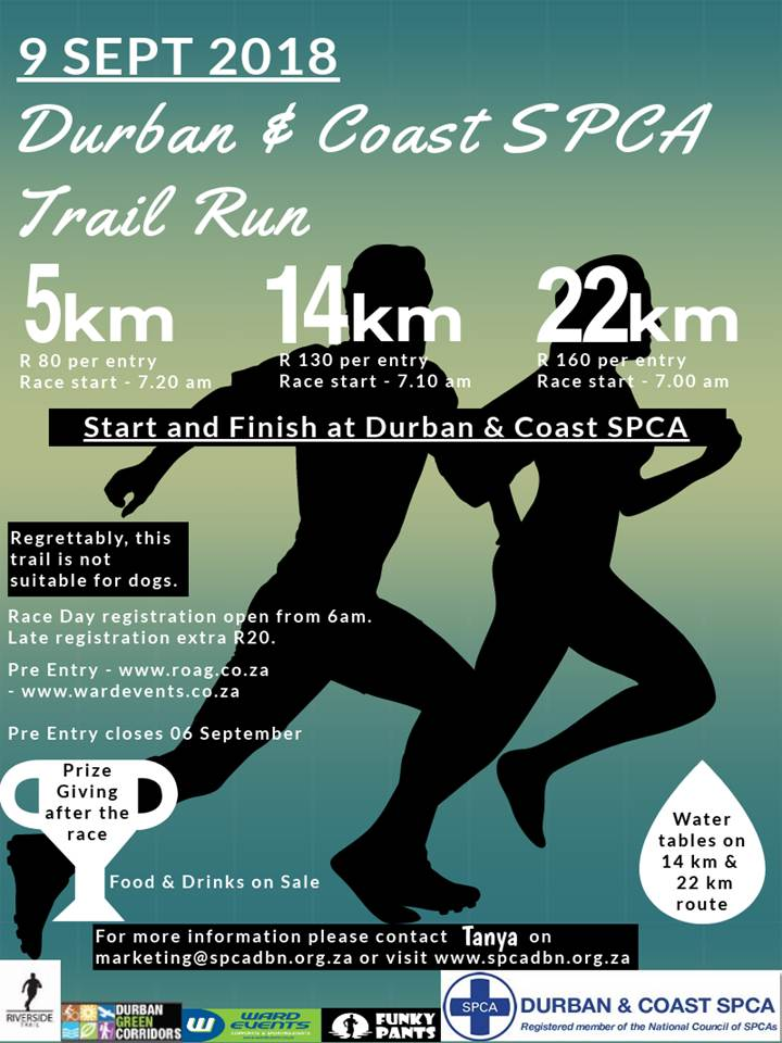 DBNSPCA Trail Run